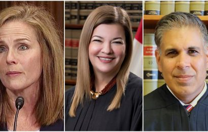 Trio of Trump front-runners emerge for Ginsburg's court seat