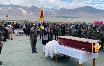 Ram Madhav in Tibetan soldier's funeral a strong signal to Beijing?