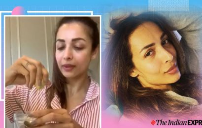 Mild acne? Try this easy home remedy from Malaika Arora