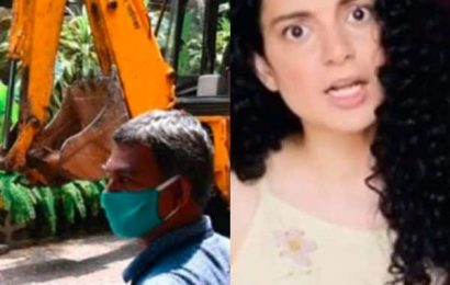 Bombay High Court orders BMC to stop demolition of Kangana Ranaut's office; actress says, 'This is what fascism looks like'