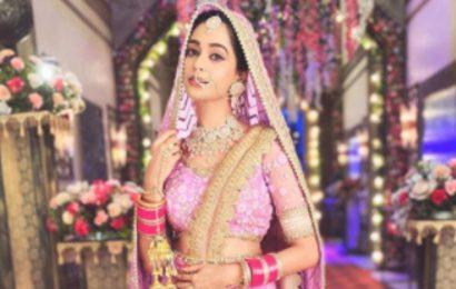 Kumkum Bhagya's Mugdha Chaphekar aka Prachi says, 'Be it for reel life or real, dressing up as a bride is always wonderful,'
