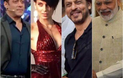 Salman Khan, Kangana Ranaut, Shah Rukh Khan wish PM Narendra Modi on his 70th birthday