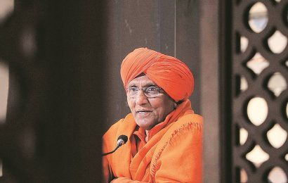 The Swami as a social activist, crusader against bonded labour