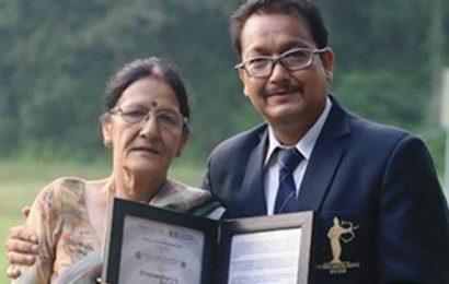 Jaspal Rana felicitated by Rotary