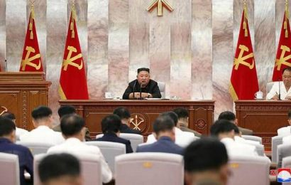 Kim Jong-un urges quick recovery from typhoon damage