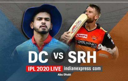 IPL 2020 Live Score, DC vs SRH Live Cricket Score Online: Delhi Capitals win toss, elect to field first