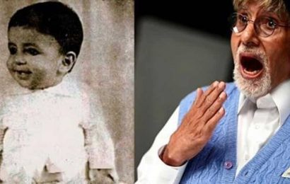 Amitabh Bachchan shares his photo as a baby in a then-and-now post, internet calls it 'the original swagger'