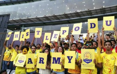 IPL 2020:An IPL away from India? Not a problem for CSK's Whistle Podu Army