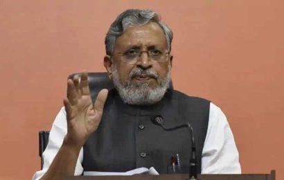 Rs 2.63 lakh crore spent on asset creation during NDA rule in Bihar: Sushil Modi