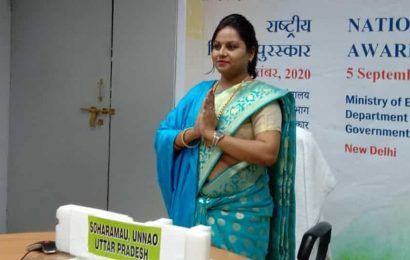 National Teachers' Awards 2020 : 3 UP teachers among 47 honoured