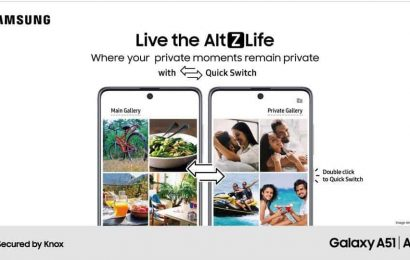 Samsung sets a new bar for privacy with industry-first innovations such as Quick Switch & Content Suggestions on Galaxy A51 & Galaxy A71