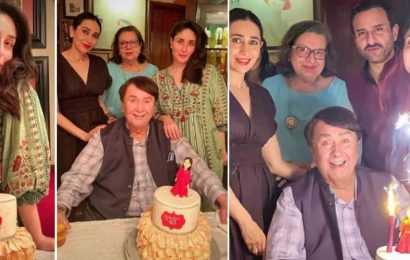 Inside Kareena Kapoor's 40th birthday party with Saif Ali Khan, sister Karisma: Her cake steals the show