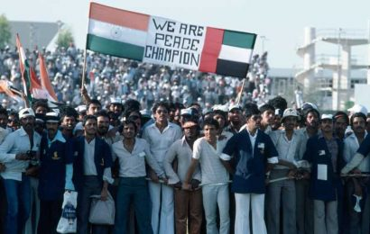 Back to Sharjah, home of rivalries and controversy