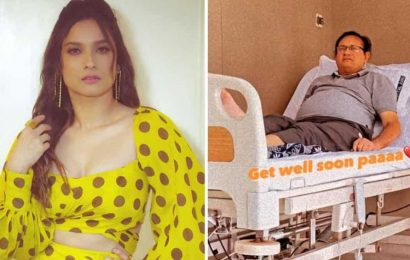 Ankita Lokhande's father hospitalised, she wishes him a speedy recovery. See pic