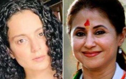 Kangana Ranaut launches personal attack on Urmila Matondkar, calls her a 'soft porn star' who is 'not known for her acting'