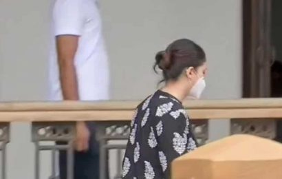 Deepika Padukone's manager Karishma Prakash arrives for questioning by NCB in Bollywood drug case