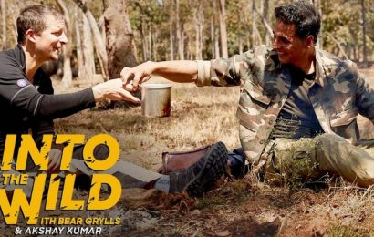 Akshay Kumar reveals he drinks cow urine every day in a chat with Bear Grylls