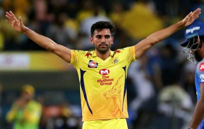 Deepak Chahar gets BCCI clearance to start training for IPL 2020