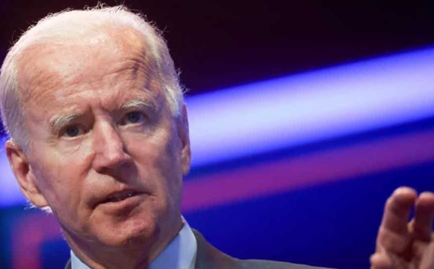 'Fired up' Joe Biden discusses strategy with Senate Democrats