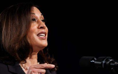 Kamala Harris rebuts Republicans, assailing Trump for mishandling Covid-19