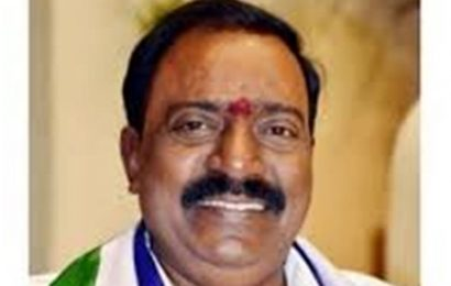 Lok Sabha MP Balli Durga Prasad Rao passes away