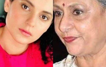 After Jaya Bachchan slams Kangana Ranaut's 'gutter' remark, the latter asks, 'What if Shweta was molested and Abhishek, bullied?'