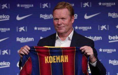 Koeman status as Barca great on the line in testing season