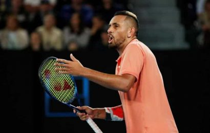 Kyrgios sends volley at Wilander over Murray comments
