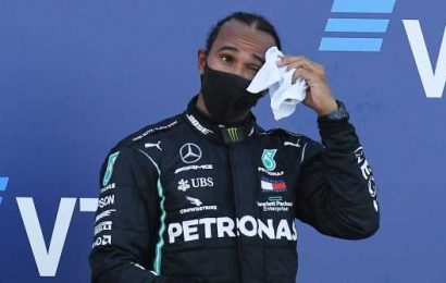 They're trying to stop me, says unhappy Lewis Hamilton