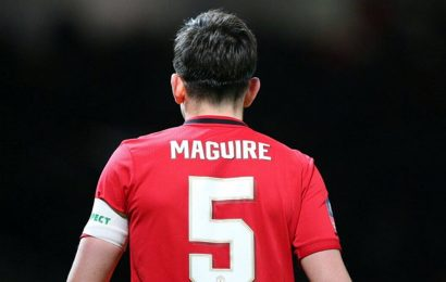 Harry Maguire set to retain captain's armband at Manchester United