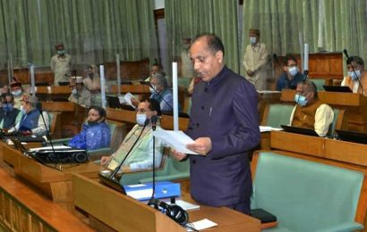 Monsoon session:We must fight the Covid crisis together, says Himachal CM