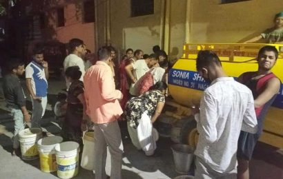 Damaged supply line: Ludhiana's Wards 29, 31 go without water for a week