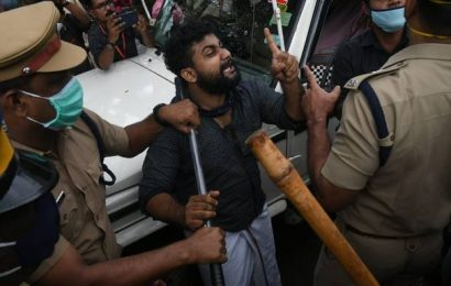Kerala Minister K.T. Jaleel appears before NIA for questioning