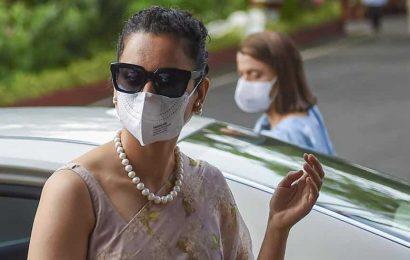 Kangana Ranaut leaves Maharashtra, says she escaped Mumbai with her life