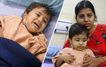 Blood cancer has taken over this 1-year-old baby's life; Please save him