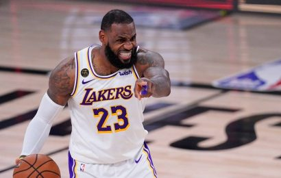 Los Angeles Lakers, LeBron James headed to the conference finals