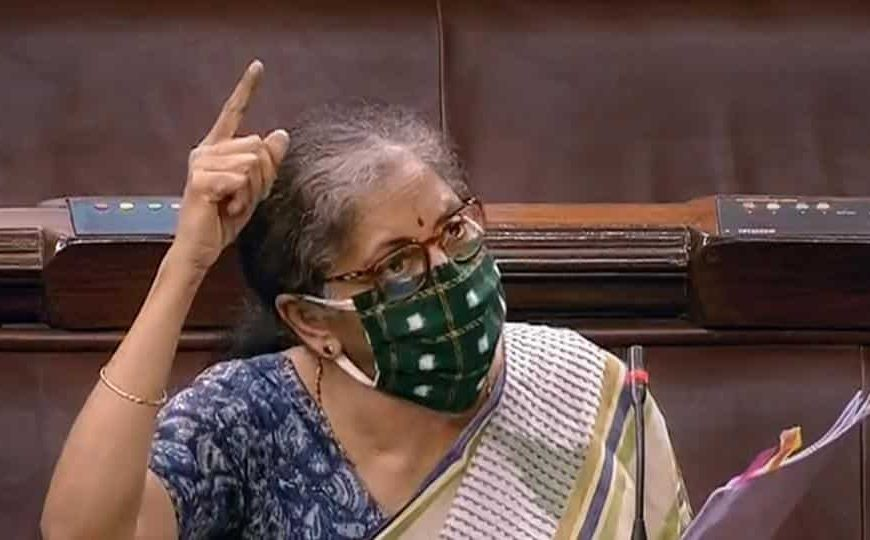 Finance minister Nirmala Sitharaman moves bill to amend Banking Regulation Act
