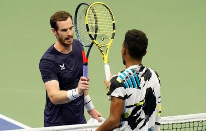 US Open: Andy Murray goes down in straight sets against 20-year-old Felix Auger-Aliassime