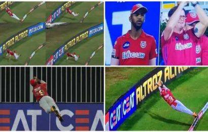 IPL 2020: Nicholas Pooran's gravity-defying save gets a standing ovation from Jonty Rhodes