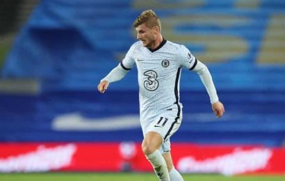 Chelsea's Lampard confident Werner will be fit for Liverpool clash