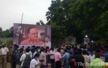 SP Balasubrahmanyam buried at his farmhouse with state honours