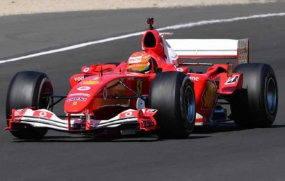 Ferrari mark 1,000th race with pride, pain and a Schumacher