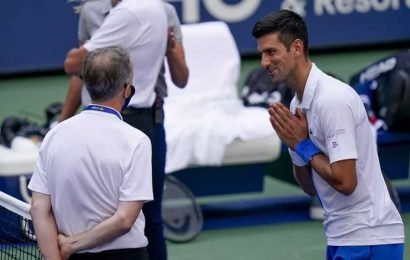 Novak Djokovic disqualified from US Open after hitting line judge with ball – WATCH VIDEO