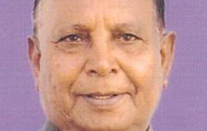 Senior BJP leader, former minister Liladhar Vaghela dies