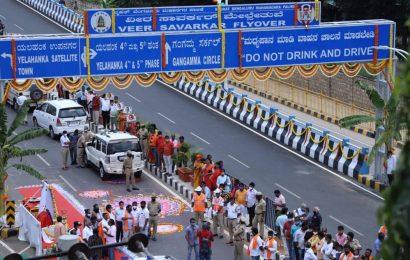 Karnataka: Yediyurappa inaugurates Veer Savarkar flyover amid opposition