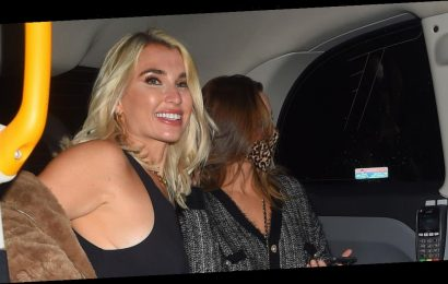 The Mummy Diaries' Sam and Billie Faiers look sensational as they head on night out in matching leather