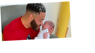 Ex On The Beach star Ashley Cain reveals baby daughter has 'aggressive' form of leukaemia