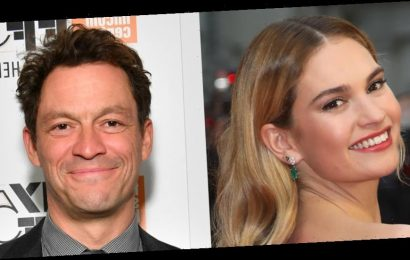 Lily James & Dominic West 'Connected In a Special Way' This Summer