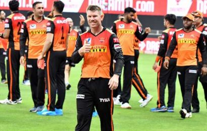 SEE: How SunRisers celebrated victory against CSK