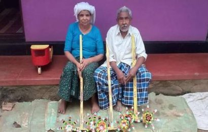 80-year-old Abdu ikka from Wayanad attains fame by crafting toys from junk